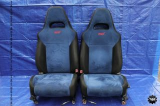 2004 Subaru Impreza WRX STI Factory Interior Front Seats GD7 EJ257