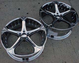 Giovanna Dalar 5V 22 Chrome Rims Wheels S430 Stag