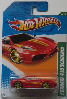 2012 Hot Wheels Treasure Hunts Ferrari 430 Scuderia 9 15 International