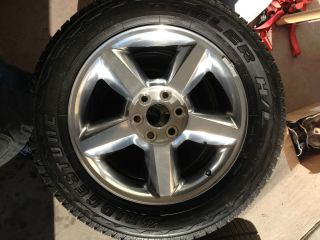 2013 Chevy Tahoe Polished 20 Wheels Bridgestone Tires