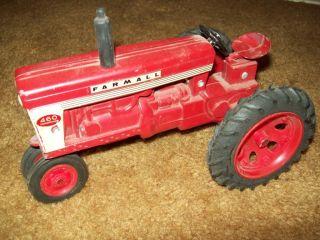 460 Ertl 1 16 Toy Tractor No Fast Hitch 1958 Die Cast Plastic Wheels