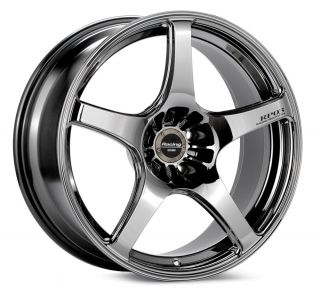 RP03 Virtual Chrome Wheel Rim s 5x114 3 5 114 3 5x4 5 18 8 5