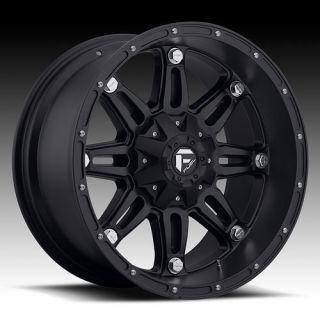 20 Wheels Rims Fuel Hostage Black Tundra Sequoia 470