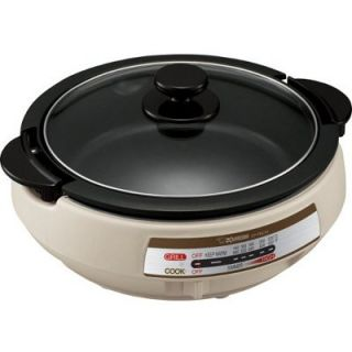 Large multi functional electric skillet Durable cooking pan ideal for