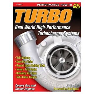 SA Design Book Turbo Real World High Turbocharger Systems 160 Pages