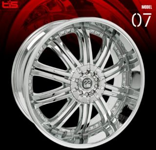 22 inch Tis Ford Expedition F150 Lincoln Navigator Rims