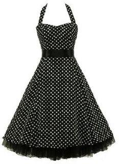 Petticoat kleid Neckholder kleid Abendkleid 34 36 38 40 42 44