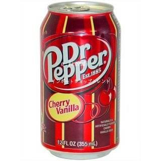 Dr Pepper Cherry Vanilla 24er (Dosen): Lebensmittel