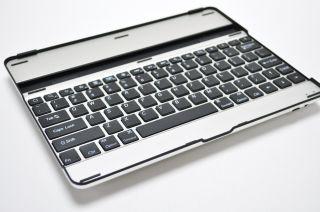 Wireless Aluminum Tastatur Bluetooth Tastatur fuer The New iPad 3 iPad