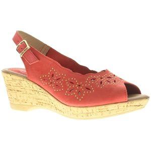 Spring Step Womens Keystone Red Sandals   Keystone R