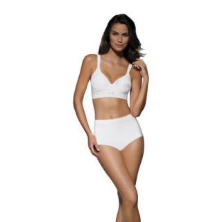 Beauty by Bali Womens T Shirt Wirefree Bra B540   White 36DD
