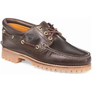 Timberland Mens 3 Eye Classic Lug Brown Pull Up Shoes 30003