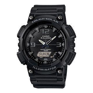 Casio Analog Digital Solar Sports Watch, Black