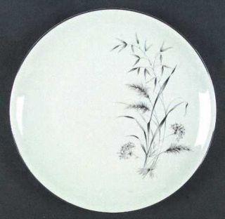 Fitzgerald & Allison Silver Harvest Dinner Plate, Fine China Dinnerware   Gray W