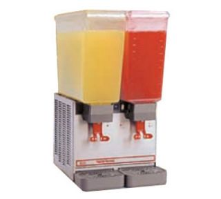 Grindmaster   Cecilware Cold Beverage Dispenser, Twin 5.4 Gal Capacity, Stainless