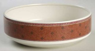 Mikasa Estrella 8 Round Vegetable Bowl, Fine China Dinnerware   Intaglio, Pink