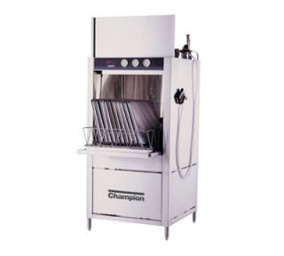 Champion Pot & Pan Washer w/ Built in Steam Booster Heater, Split Door Design, 208/3 V