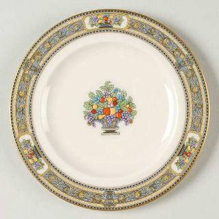 Morgan Belleek (USA) Orient Bread & Butter Plate, Fine China Dinnerware   Blue &