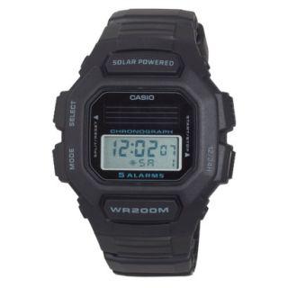 Casio Mens Solar Digital Watch   Black   HDDS100 1AVCF