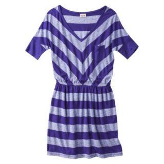 Mossimo Supply Co. Juniors V Neck Dress  Kindred Blue XL(15 17)