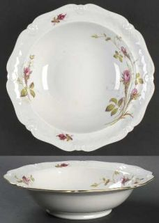 Royal Heidelberg Rose Brier (White) 9 Round Vegetable Bowl, Fine China Dinnerwa