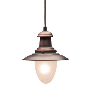 Elk Lighting Railroad 1 Light Mini Pendant 010 AC