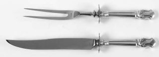 Manchester Duke Of Windsor (Sterling, 1937) Small Stainless Blade 2 Piece Steak