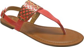 Womens Westbuitti Victoria 1   Coral Ornamented Shoes
