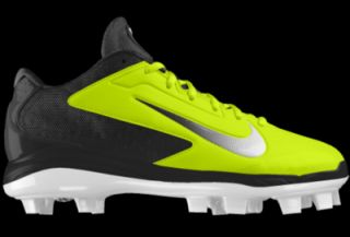 low priced 9bf71 36330 ... italy nike air huarache pro low mcs id custom mens baseball cleats  yellow 56bc3 3a90f