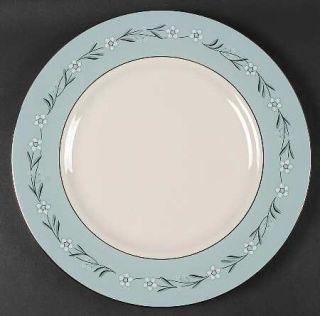 Franciscan Del Rio 13 Chop Plate (Round Platter), Fine China Dinnerware   White