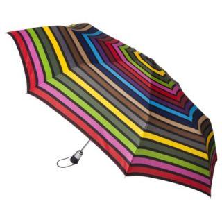 totes Family Jumbo Automatic Umbrella   Multicolor Stripe