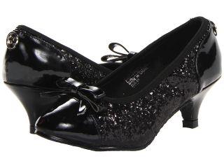 MICHAEL Michael Kors Kids Kay Bow Girls Shoes (Black)