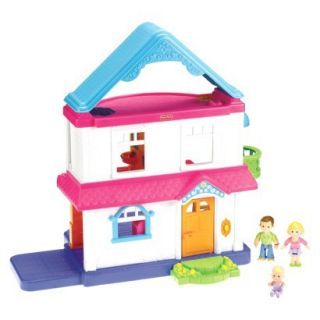 Fisher Price My First Dollhouse   Caucasian Family
