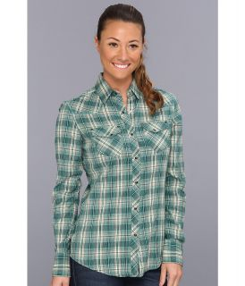 Kuhl Sante Fe Womens Long Sleeve Button Up (Green)