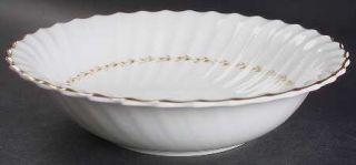 Royal Doulton Adrian 9 Round Vegetable Bowl, Fine China Dinnerware   Inner Gold