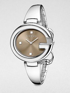 Gucci Stainless Steel Bangle Watch/36MM   Silver