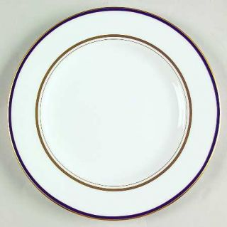 Lenox China Library Lane Navy Salad Plate, Fine China Dinnerware   Kate Spade,Na