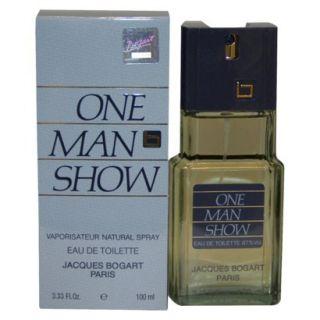 Mens One Man Show by Jacques Bogart Eau de Toilette Spray   3.3 oz
