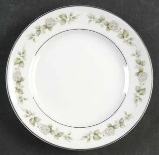 Franconia   Krautheim Cindy Bread & Butter Plate, Fine China Dinnerware   White