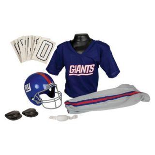 Franklin Sports NFL Giants Deluxe Uniform Set   Medium
