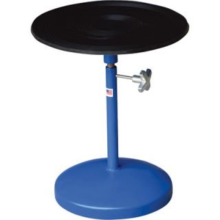 Vestil Heavy Duty Manual Turntable   With Pedestal, 300 Lb. Capacity, 18in. Dia.
