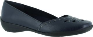 Womens Easy Street Nadine   New Navy Polyurethane Casual Shoes