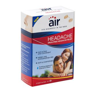 Air Drug free Headache Relief Nasal Breathing Aid (pack Of 12)