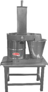 Fleetwood Heavy Duty Cheese Vegetable Slicer w/ Oversized Catch Bucket, Stand