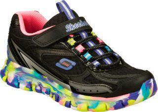 Infant/Toddler Girls Skechers Synergy Dreamwavez   Black/Multi Sneakers