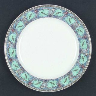 studio nova green bamboo dinner plate fine china