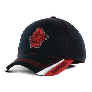 U.S. Marine Corps Bulldogs Top of the World NCAA Lit One Fit Cap