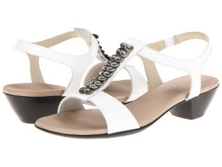 Munro American Bree Womens 1 2 inch heel Shoes (White)
