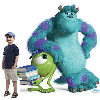 Mike Sulley Monsters University Standee