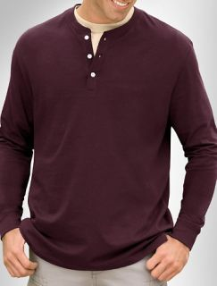 Big and Tall Harbor Bay® Long Sleeve Wicking Henley
